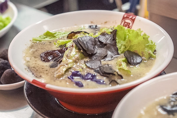 Truffle King Ramen at the first Ramen Nagi concept shop