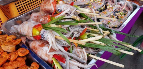 Filipino Food - Grilled Seafood