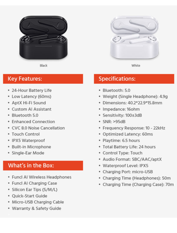 Funcl AI - Product Technical Specifications