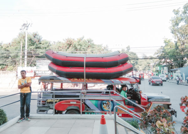 Jeepney ride to Cagayan de Oro River