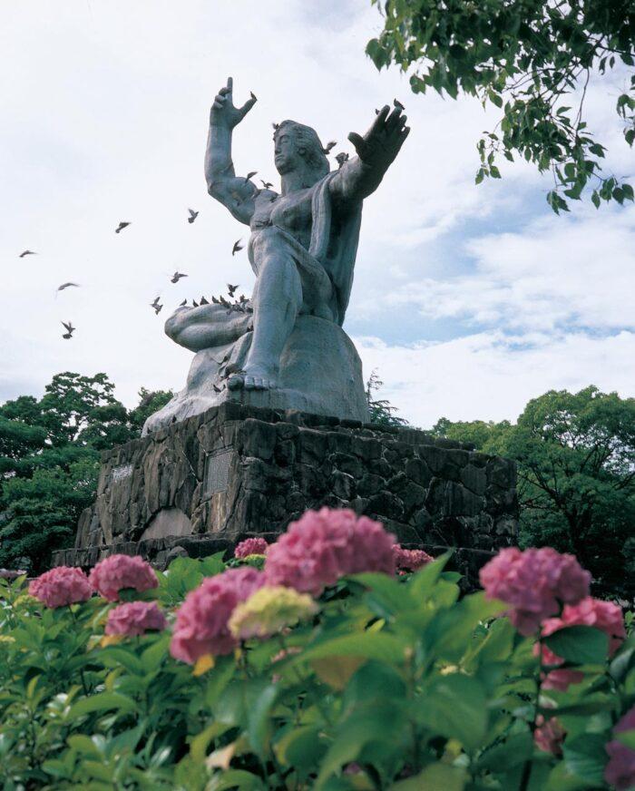 Nagasaki Peace Park Monument