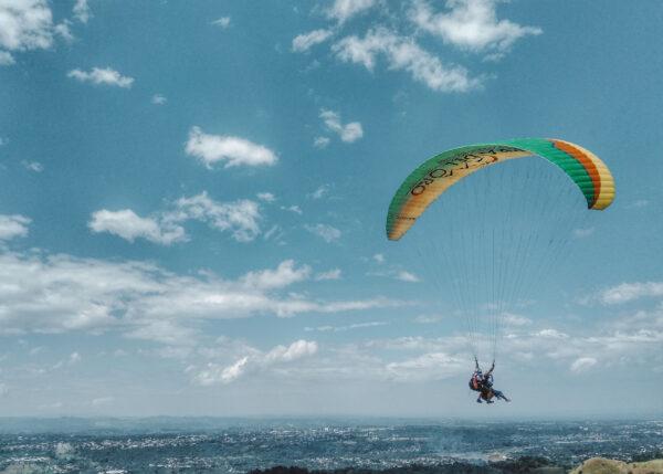 Tandem Paragliding at Amaya View, CDO