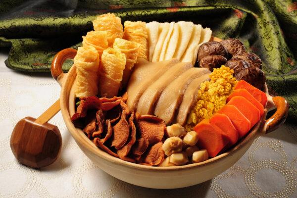 18 Louhans Vegetarian Poon Choi
