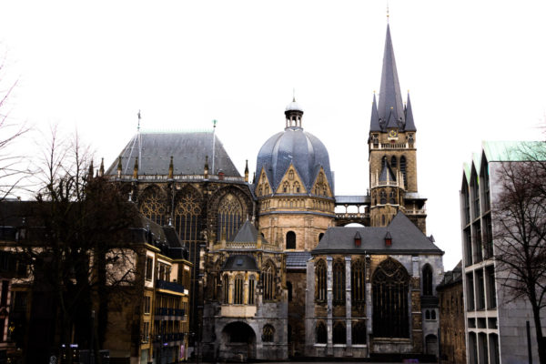 Aachen Cathedral viewed from Rathaus