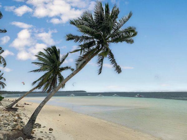 Beach in Siargao Island