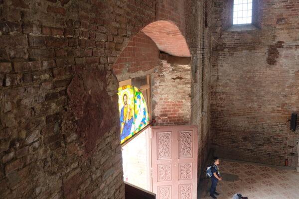 Church of Tumauini main door