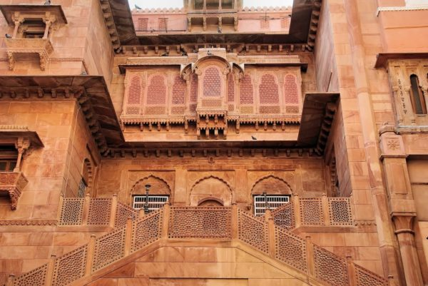 Junagarh Fort in Bikaner, India