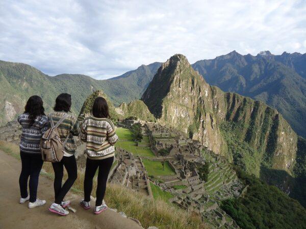 Machu Picchu Tourists