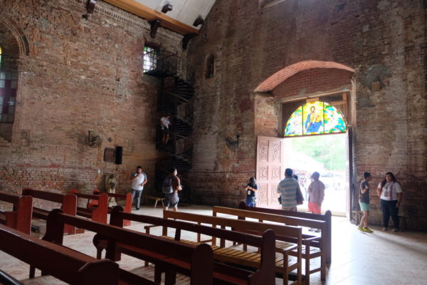 Main Door of the Church of Tumauini in Isabela