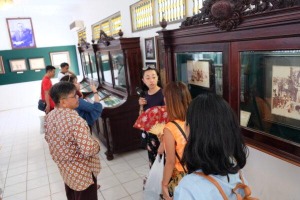 Museum inside Keraton