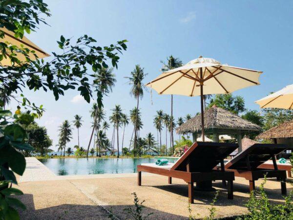 Poolside of Club Agutaya