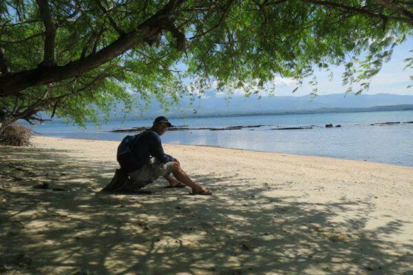 San Salvador Island in Masinloc Zambales photo by Dennis De Castro via Facebook