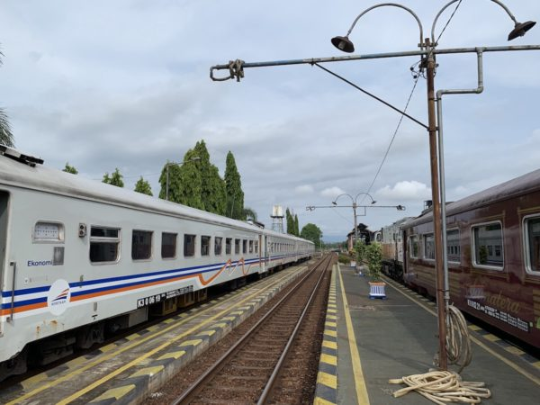 Stopover - Train to Yogyakarta