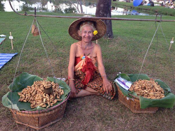 Street Food Vendor in Sukhothai