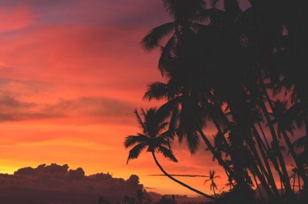 Sunset Philippines by Mike Aunzo via Unsplash