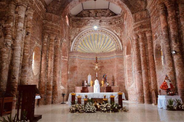 The Tumauini Church Altar