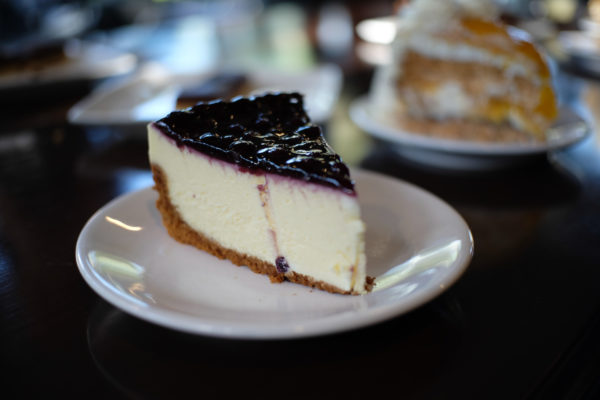 Blueberry Cheesecake at Cafe Amazon by Mac Dillera : NPVB