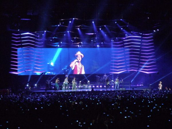 Bruno Mars at The O2 Arena