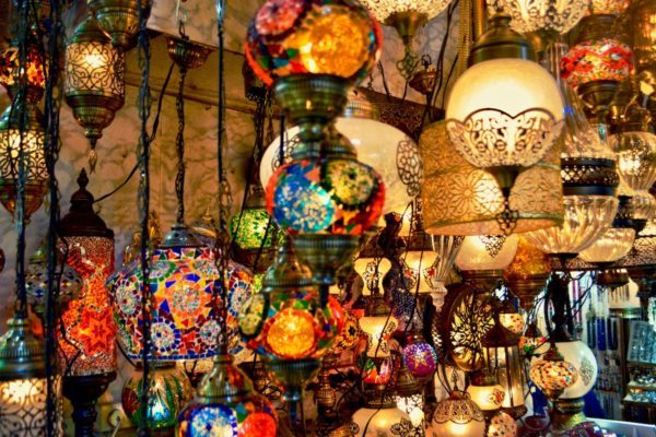 Grand Bazaar Istanbul by Ridwan Meah via Unsplash