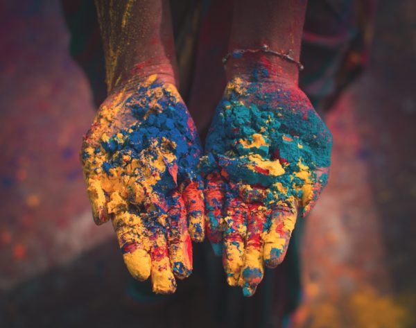 Holi Hindu spring festival by Debashis Biswas via Unsplash