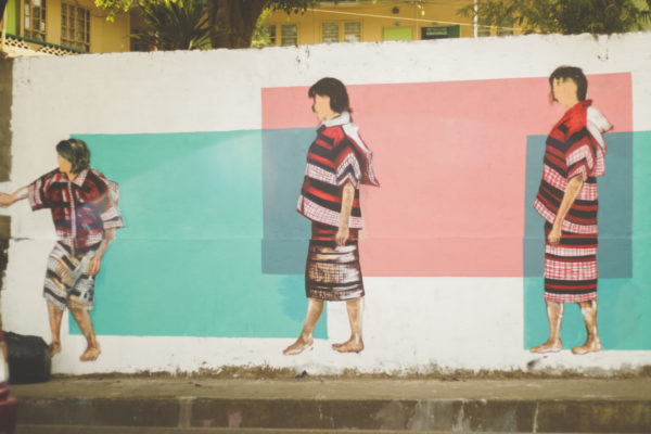 Murals at PNR, in front of Victory Liner, Baguio City photo by Krizza Mae Pacleb