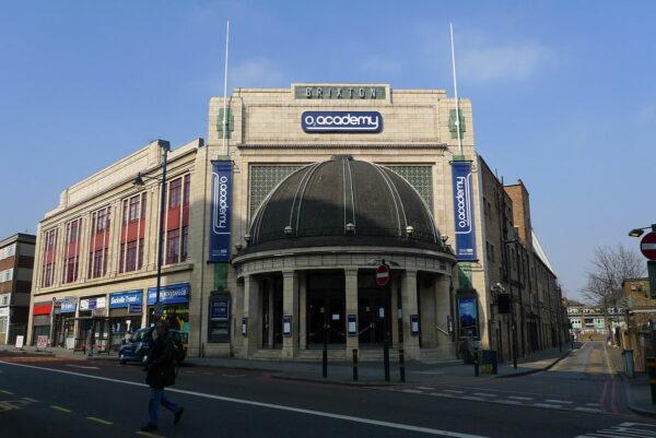 O2 Brixton Academy photo by Ewan Munro via Wikipedia CC