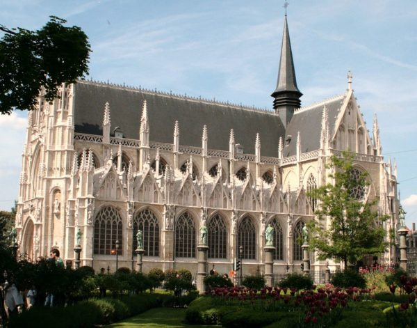 Our Blessed Lady of the Sablon Church by Luu via Wikipedia CC