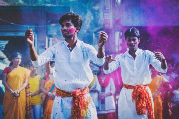 Rituals of Holi Festival by Debashis Biswas via Unsplash