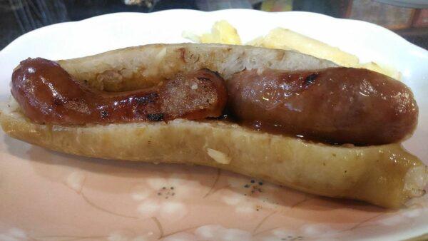 Small sausage in Big sausage by Birgitcharis17 via Wikipedia CC