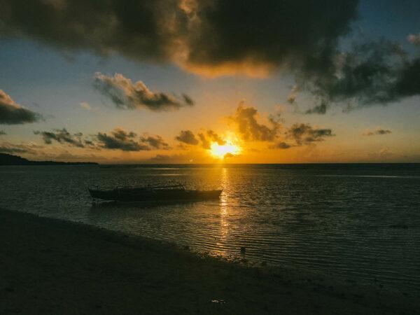 Sunset in Anda