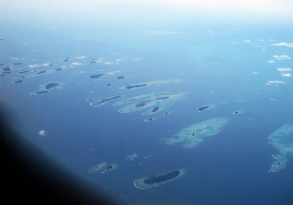 The archipelago of Thousand Islands by Rochelimit via Wikipedia CC