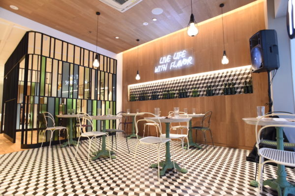 The interiors of Bench Cafe in Greenbelt 3