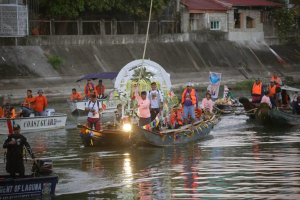 Fluvial Parade. Photo from Anilag Festival FB Page