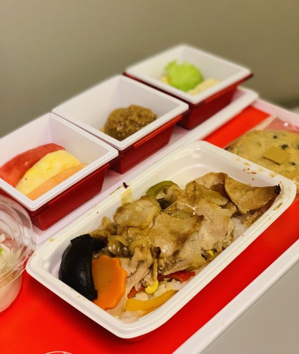 Japan Airlines Inflight Meal