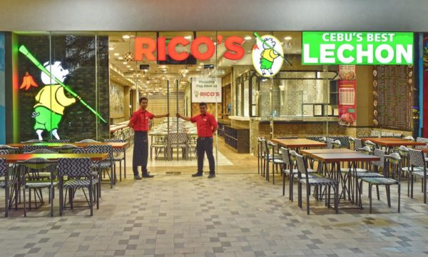 Rico's Lechon SM Mall of Asia Entrance