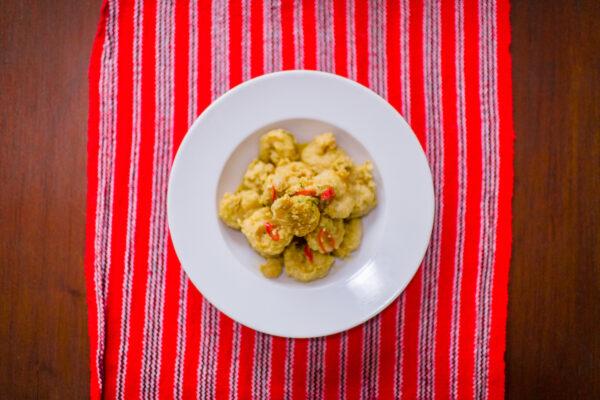 Salted Egg Fried Shrimp by Terrie Reyes