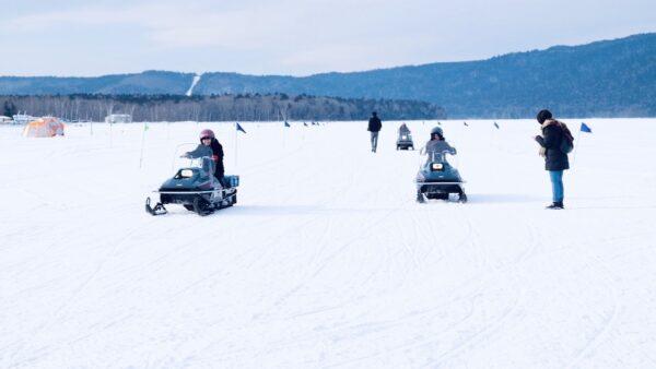 Snowmobile Tour Package in Hokkaido Japan