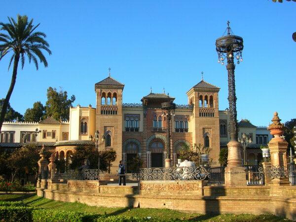 The Mudejar Pavilion photo by Grez via Wikipedia CC