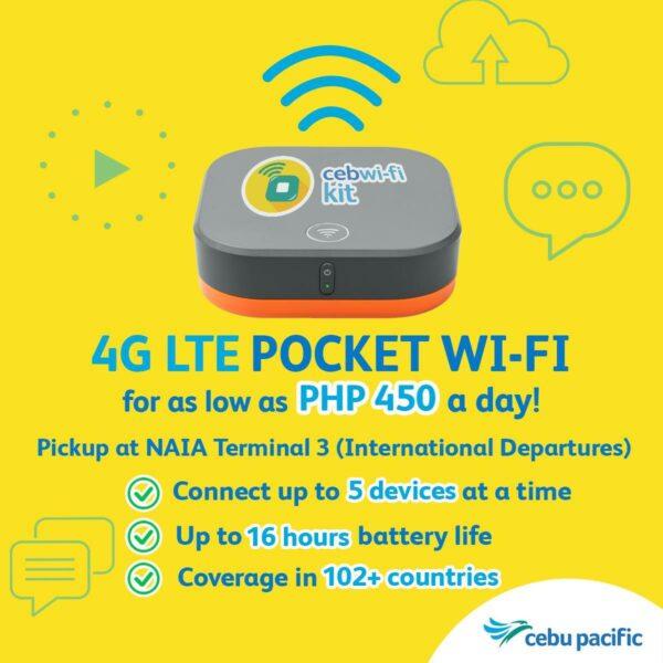 Cebu Pacific Wifi Kit