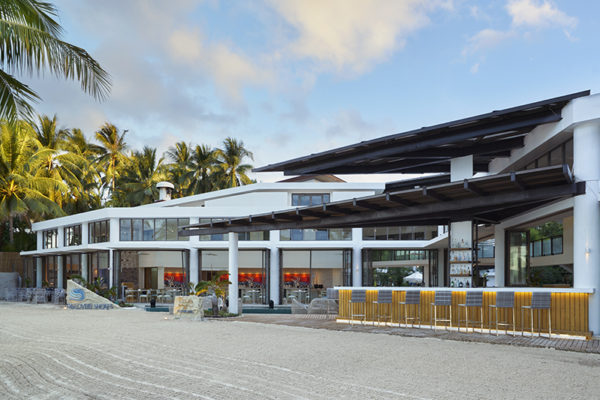 Discovery Shores Boracay is a beachfront resort in Station 1.