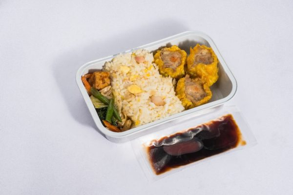 Fried Rice with Dumplings