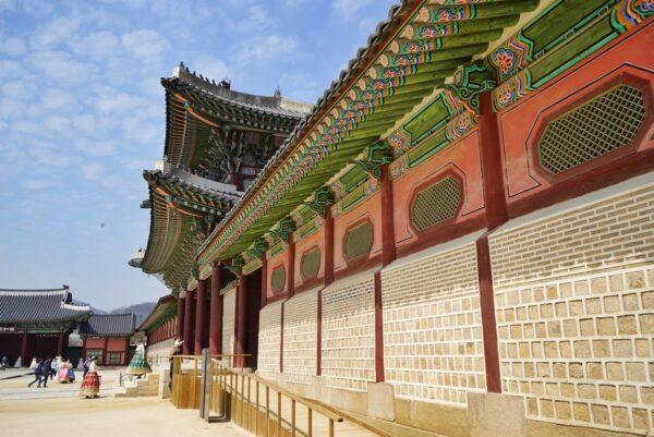 Gyeongbokgung Palace Gate