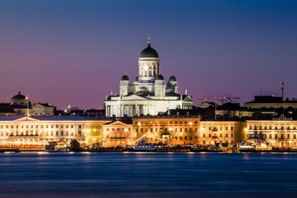 Helsinki Cathedral by Tapio Haaja via Unsplash