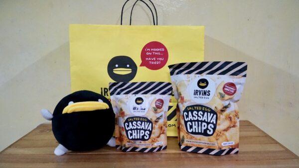IRV Plushie and the new Cassava Chips variety