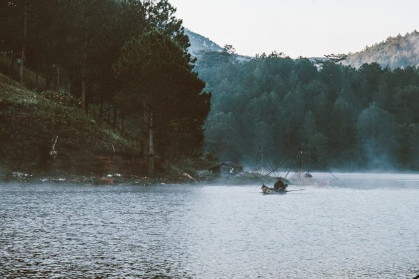 Lake in Da Lat Vietnam