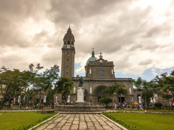 Manila Cathedral in Intramuros Manila