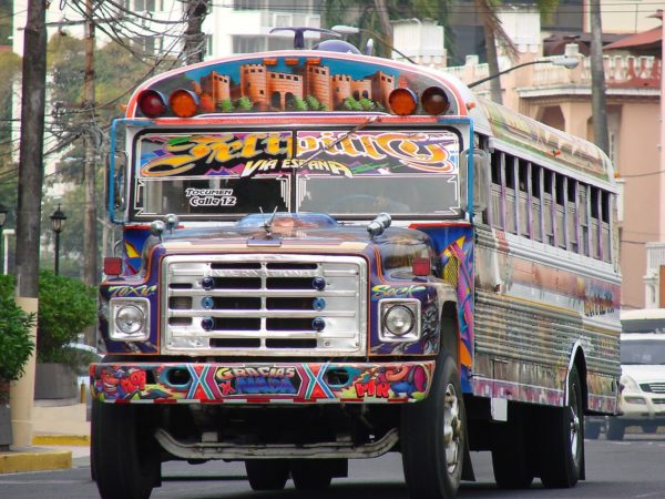Passenger Bus in Panama