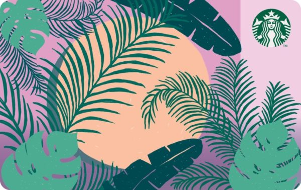 Starbucks Botanical Card