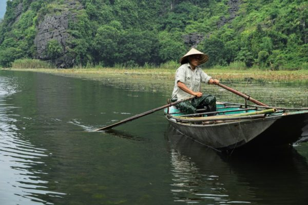 Tam Coc river by Peter Livesey via Unsplash