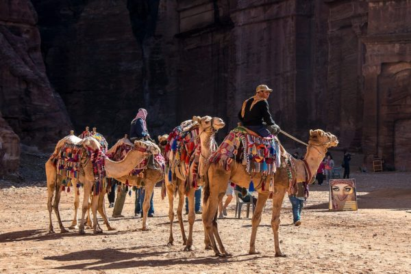 Traveling to Petra Jordan